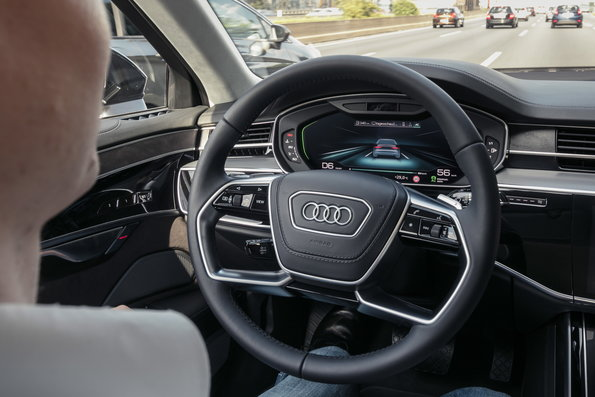 Автономно возење на ново ниво: Ви го претставуваме Audi AI пилотот за сообраќаен метеж