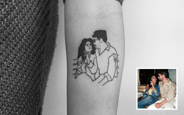 Талентиран тату артист ги претвора носталгичните спомени во уникатни тетоважи