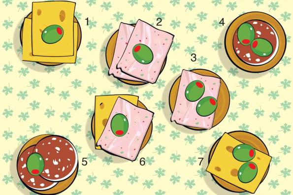 Можете ли да ја најдете вкусната закуска што се разликува од останатите?