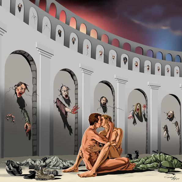 Сатирични илустрации за денешните проблеми што ќе ви ги отворат очите
