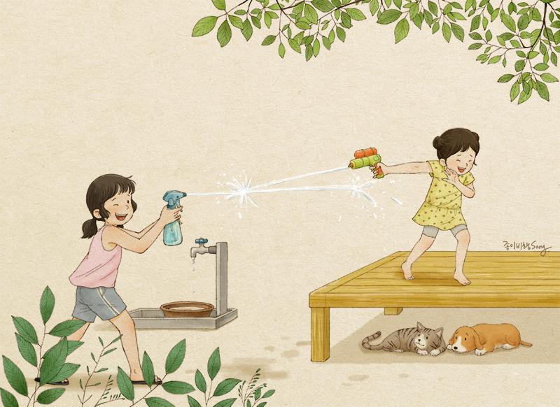 5-prichini-zoshto-tokmu-taa-e-vasheto-najgolemo-bogatstvo-korejska-umetnichka-gi-ilustrira-spomenite-od-izrasnuvanjeto-zaedno-so-sestra-www.kafepauza.mk_