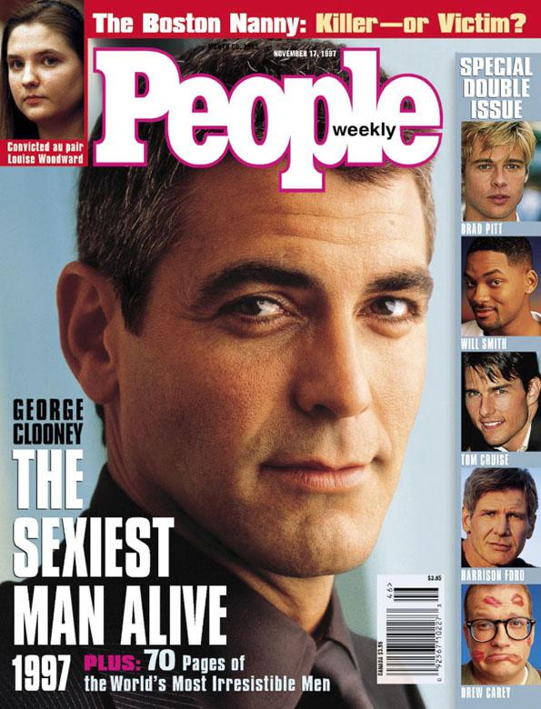 Рај за очи: Погледнете ги сите познати ѕвезди кои биле прогласени за најсекси мажи од 1990 до 2017 година