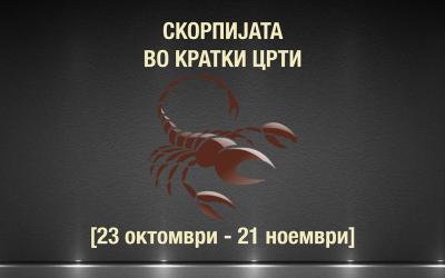 Видео хороскоп: Скорпијата во кратки црти