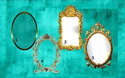 Одберете едно волшебно огледало и ќе добиете порака за вашиот животен пат
