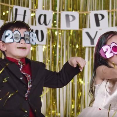 Слушнете ги новогодишните одлуки на овие неколку слатки и паметни деца