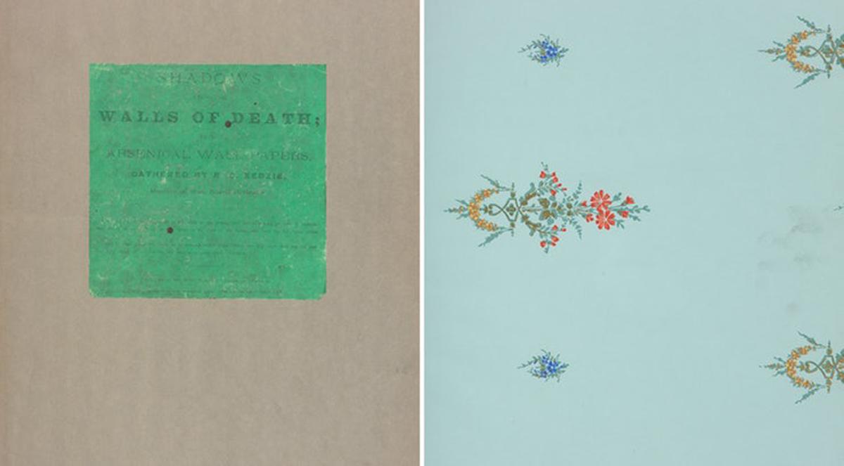Книга со примероци од тапети која би можела да ве убие доколку ја допрете