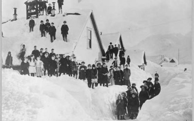 8 ретки винтиџ фотографии кои ја покажуваат бруталноста на зимата во минатото