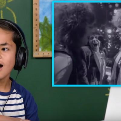 Како реагираат децата кога ќе ги чујат песните на бендот Бон Џови?