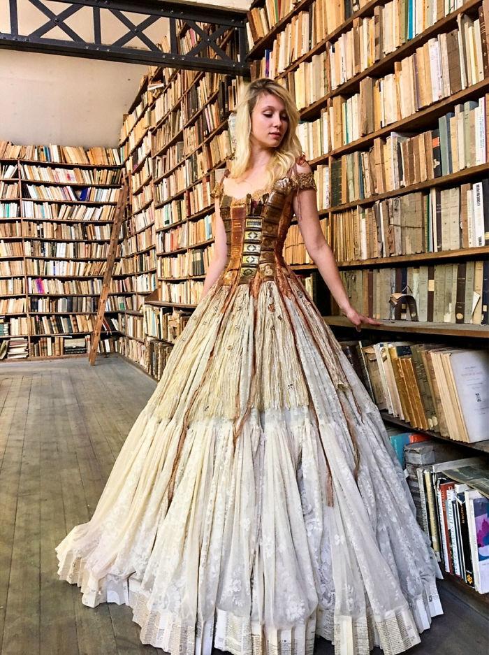 Француска дизајнерка создава фустани какви што немате видено досега