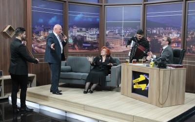 """Виолета Томовска и Ефто Пупиноски во """"Еден на Еден"""""""