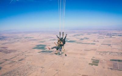Зошто падобранството е одлично за вашата анксиозност?