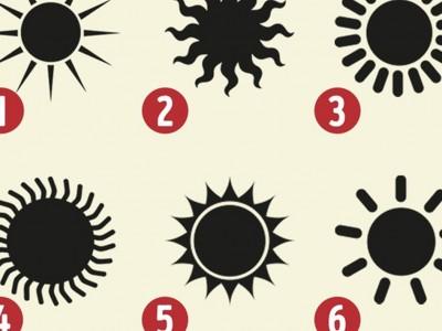 Одберете сонце и дознајте ги скриените страни на вашиот карактер