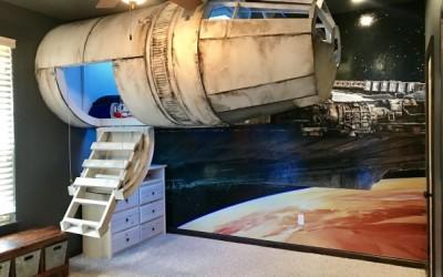 Интересна детска соба инспирирана од Војна на ѕвездите