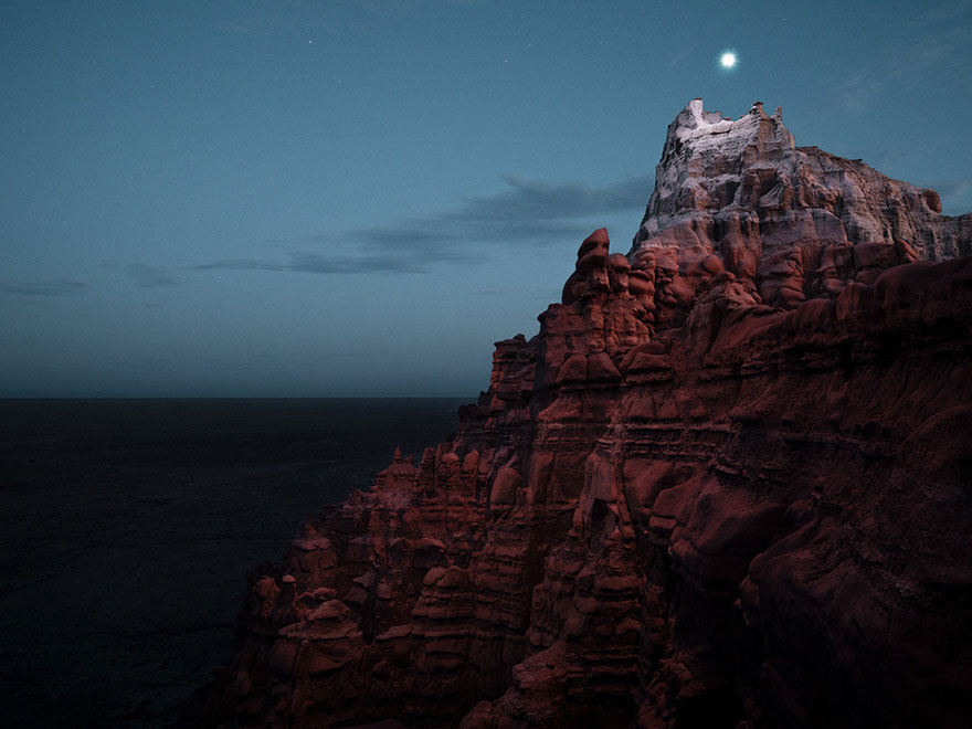 Фотограф користи дронови за да направи планински ореоли и резултатот е неверојатен