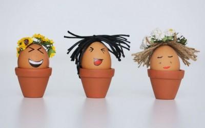 3 нови идеи за украсување јајца без употреба бои