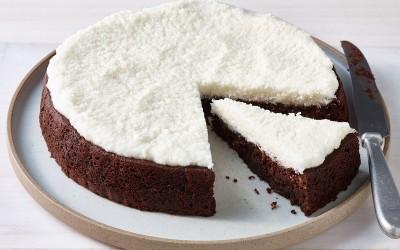 Безглутенска чоколадна торта со кокосово брашно