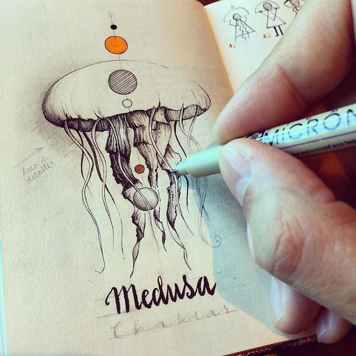 Поранешен инженер ги забележува своите патувања на многу креативен начин
