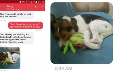 Вработената јавила дека ќе доцни, а одговорот на шефот стана интернет-хит