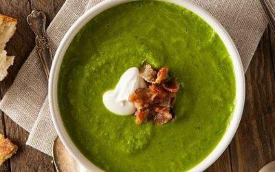 Вегетаријанска чорба од зелка, коприва и див лук