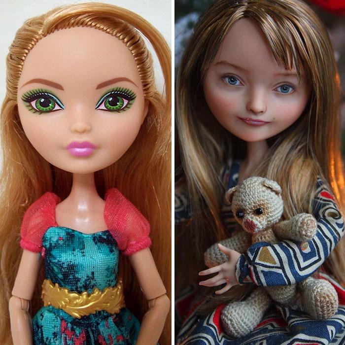 Уметница од Украина прави неверојатни трансформации на кукли