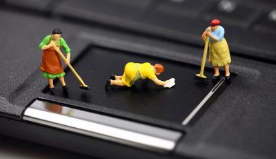 5 трикови за чистење на вашиот лаптоп и однадвор и однатре