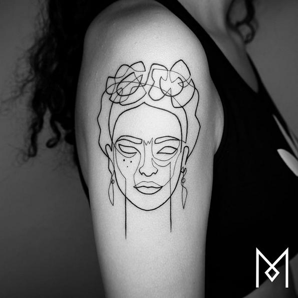 Креативни минималистички тетоважи нацртани во една линија, коишто ќе ве инспирираат да се истетовирате