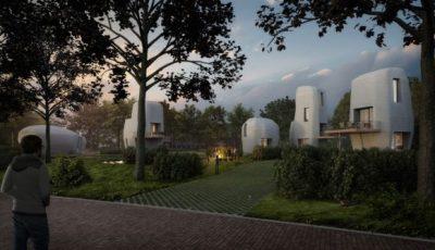 Град во Холандија ги создава првите 3Д печатени куќи погодни за живот
