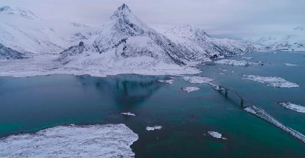 Видео прошетка и будење на сетилата со фасцинантните пејзажи на Северна Норвешка