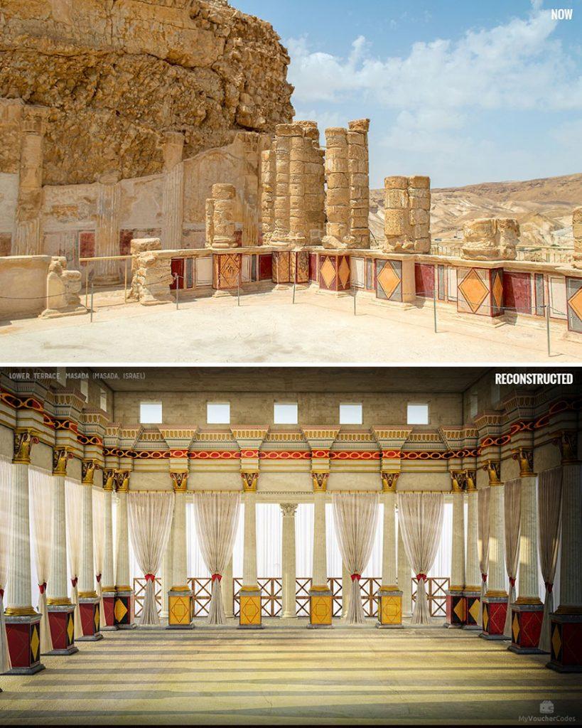 Како изгледале некои од најпознатите древни урнатини во минатото?