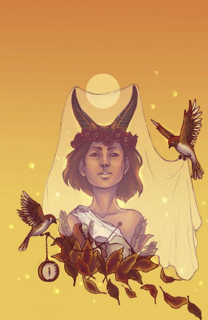 Неверојатни илустрации од хороскопските знаци претставени како божици