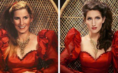 Интернет корисници ги рекреирале фотографиите од нивните предци за да ја илустрираат моќта не гените