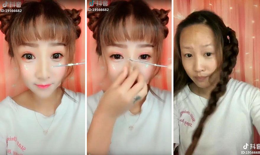Моќта на шминката во азиските држави