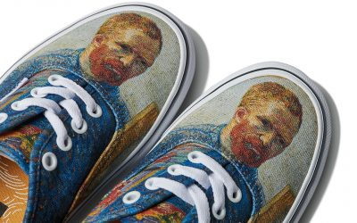 """Делата на Ван Гог се вратија во живот на стилски начин преку новата модна колекција на """"Vans"""""""