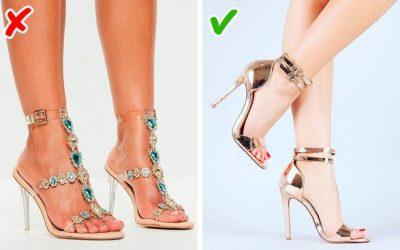 9 причини зошто вашите чевли изгледаат евтино