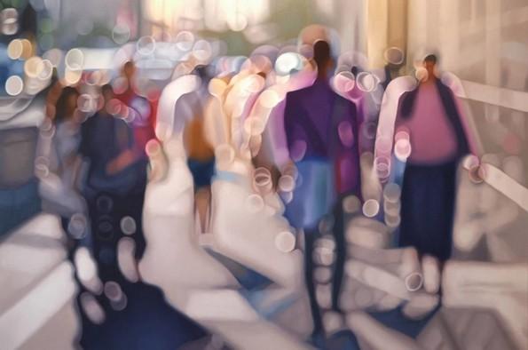 Илустрации што прикажуваат како гледаат луѓето со лош вид