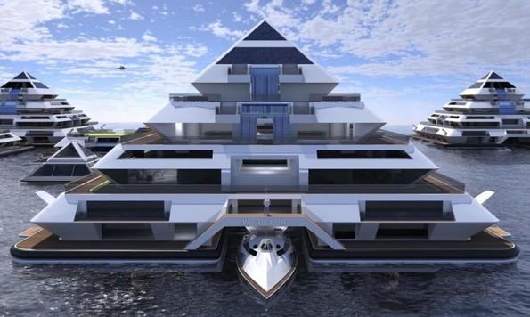 Неверојатни самоодржливи пирамиди во кои можете да живеете