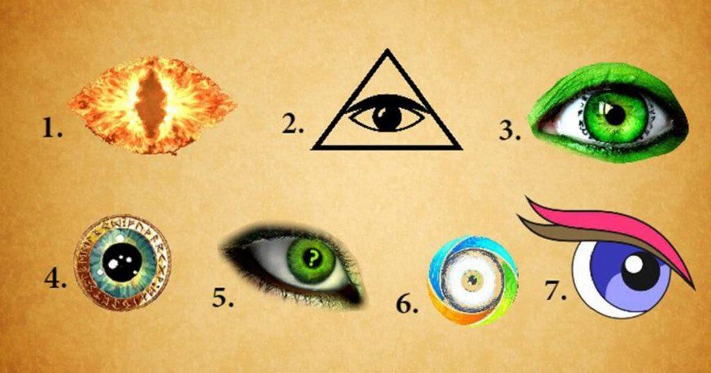 Одберете око и откријте таен детал за вашата потсвест