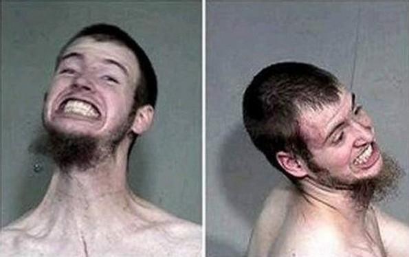 Најсмешните полициски фотографии на сите времиња