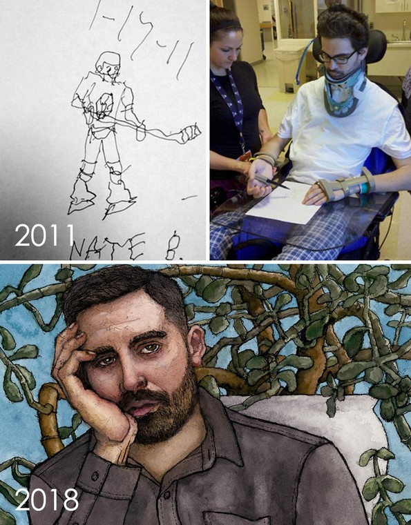 """Уметници се предизвикуваат одново да ги нацртаат нивните стари """"лоши"""" цртежи"""