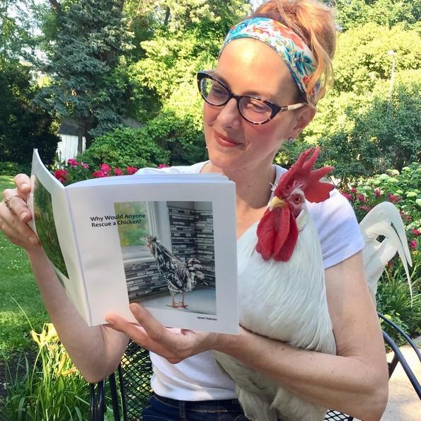 Неверојатната приказна на петелот Бри и неговата сопственичка Камил
