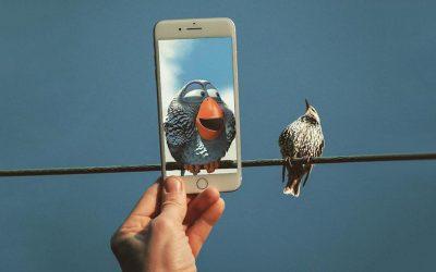 Уметник користи Ајфон за да вметне ликови од поп културата во реалниот свет