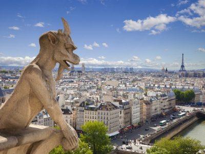 Магичната историја на гарголите на Богородичната црква во Париз