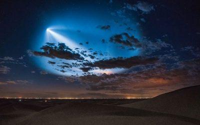 Најдобрите фотографии и видеа од лансирањето на ракетата на SpaceX над Лос Анџелес
