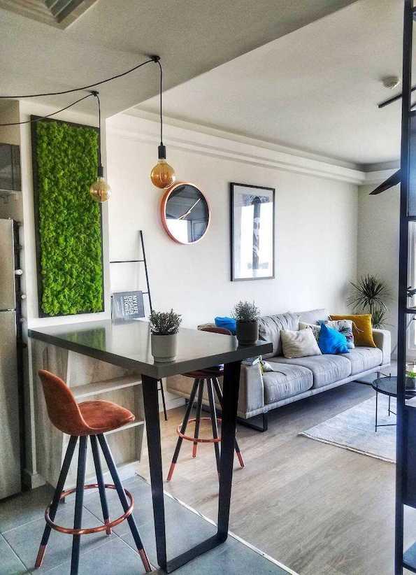 Фото: Модерни станови со зелени декорации во Скопје!