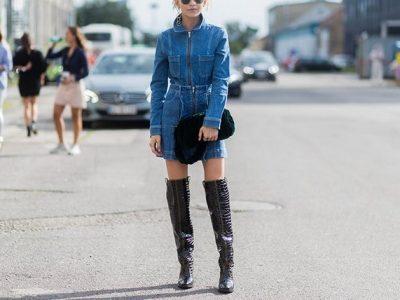 5 начини да носите тексас фустан оваа есен