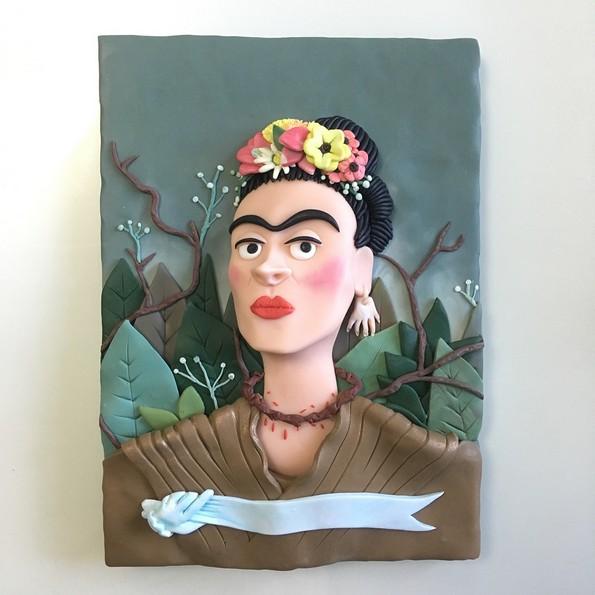 Артистка рекреира познати уметнички дела со шарена полимерна глина