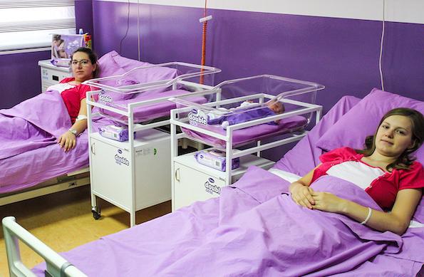 Со VIOLETA од првиот ден: Поддршка на ЈЗУ Универзитетска клиника за гинекологија и акушерство Скопје