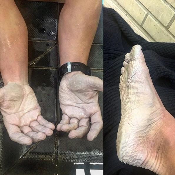 Мажот кој поминал 5 месеци пливајќи околу Велика Британија го сподели неговото искуство