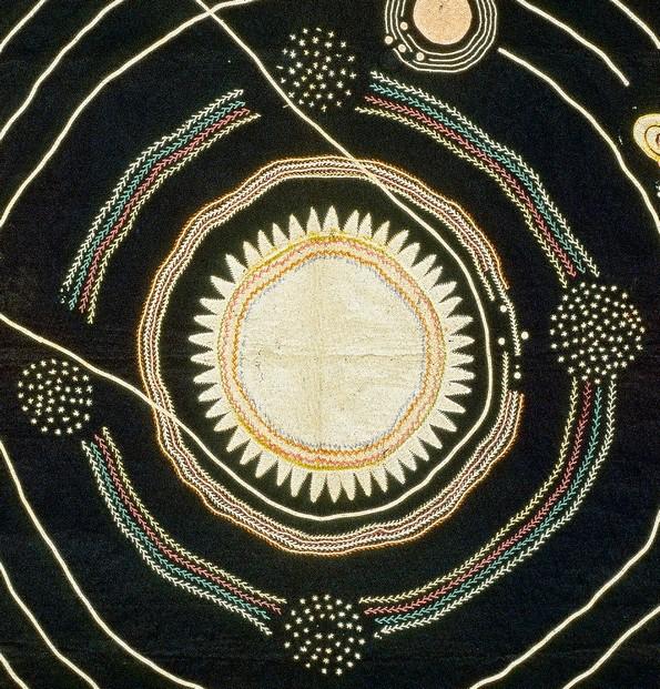 Учителка од 1876-та година изработила јорган со сончевиот систем за да ги учи децата астрономија