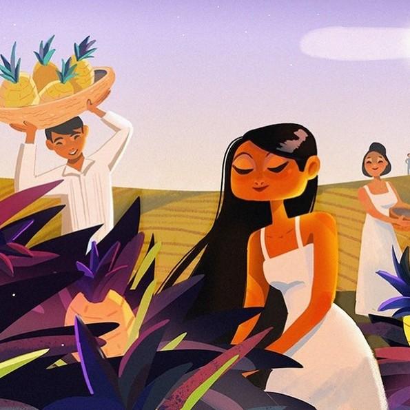 Магични илустрации во кои се сретнуваат познатите бајки и мексиканскиот фолклор